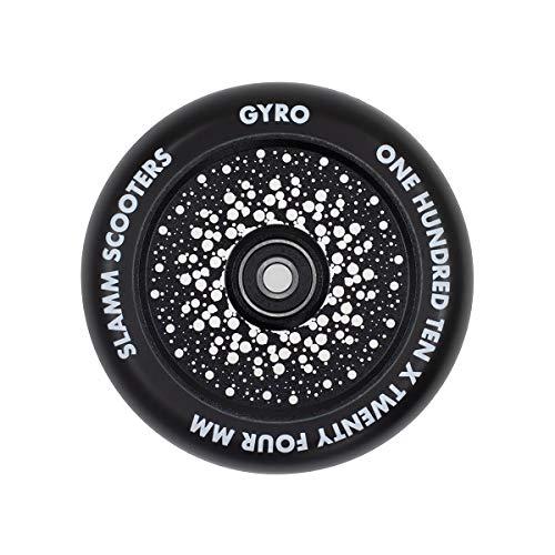 Slamm Scooters Gyro Hollow Core Wheels Roller Unisex Erwachsene, Unisex-Erwachsene, SL591, Schwarz (Black), 110 mm