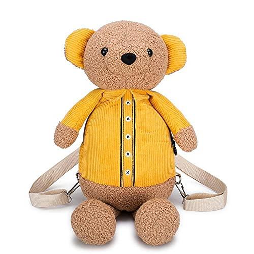 Mochila para niños con diseño de animal, estilo animal, mochila creativa de dibujos animados, bolsa de juguete para niñas y niños, bebés, bolsa de mensajero para estudiantes de 2 a 6 años de edad