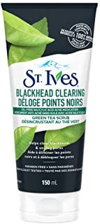 St. Ives Facial Scrub for clear, radiant skin Green Tea made with 100% naturally sourced exfoliant 150 mL
