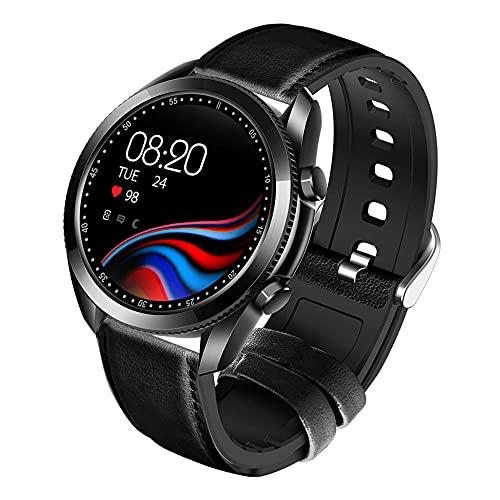 Pulsera Actividad Inteligente, Reloj de Fitness Impermeable Ip67 con Monitor de Ritmo Cardíaco Monitor de Sueño Seguimiento de La Actividad de Salud como Reloj de La Podómetro para Hombres.