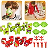 Frog mask Game, Quick Tongue Out, Family Entertainment, Parent-Child Interaction mask, Family Games, Suitable for Anyone's Frog Game