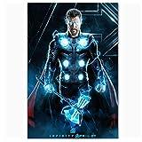 GIRDSS Plakate und Drucke Thor Marvel Avengers Infinity War