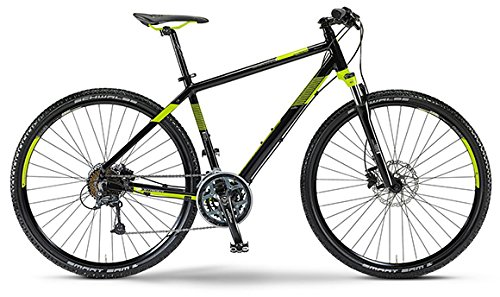 Staiger Idaho Herren-Crossrad 27-Gang Shimano Deore Kettenschaltung schwarz/lime (Rahmenhöhe 52)