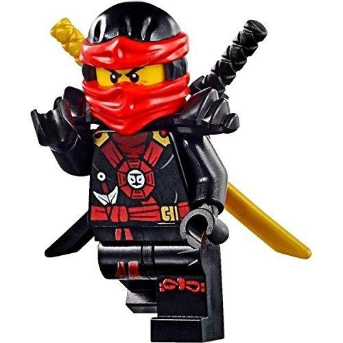LEGO Ninjago Deepstone Minifigures - Kai with Gold and Black Swords