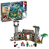 LEGO Hidden Side Newbury Abandoned Prison 70435, Augmented Reality App-Driven Ghost Hunting Toy, Includes Jack, Rami, El Fuego and Nate Lockem Minifigures, Plus 2 Dog Figures, New 2020 (400 Pieces)