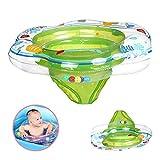 DAYPICKER Schwimmring mit Schwimmsitz, Baby Schwimmring mit PVC für Kleinkind Schwimmhilfe...