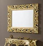 DUGARHOME - Espejos Barrocos - Rectangular Oro (120x90)