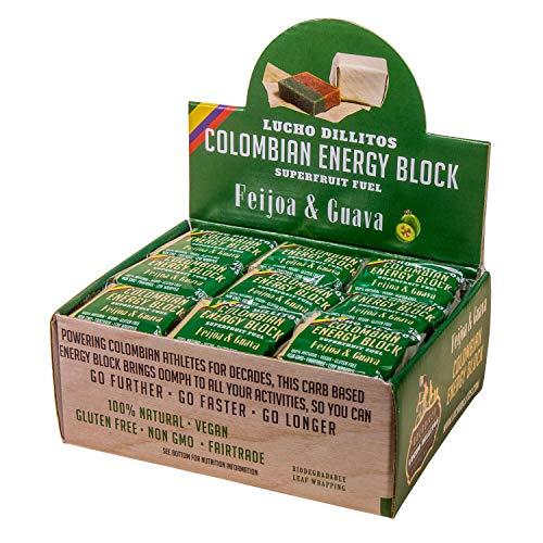 Natürlicher Guave Powerbar 27x40g – High Carb Müsliriegel für maximale Ausdauer – Herzhafter Energieriegel, Gesunde Snacks für Athleten – Vegan, Glutenfrei, Natürliche Süssigkeiten – Guave & Feijoa