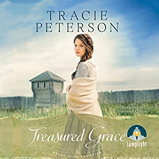 Treasured Grace     Heart of the Frontier, Book 1              Autor:                                                                                                                                 Tracie Peterson                               Sprecher:                                                                                                                                 Stephanie Cozart                      Spieldauer: 10 Std.     1 Bewertung     Gesamt 4,0
