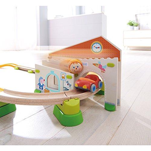 HABA 303082 Kullerbü – Spielbahn Stadtbummel, Kleinkindspielzeug - 3