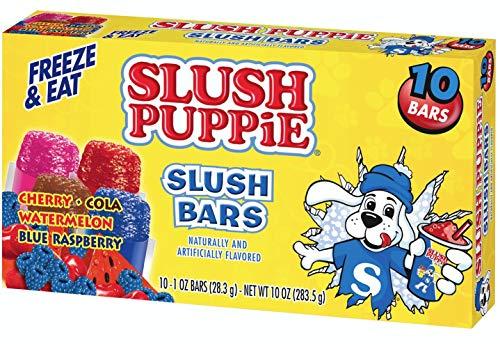 Slush Puppie - Barras de slush Puppie, varios sabores 8-Pack