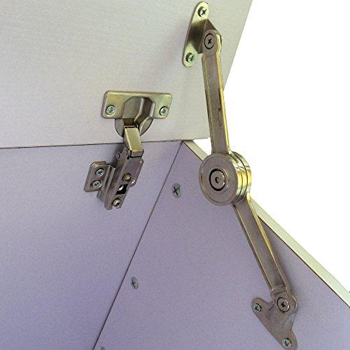 Redstone Holztruhe Sitztruhe weiß, 100x40x40cm - 5