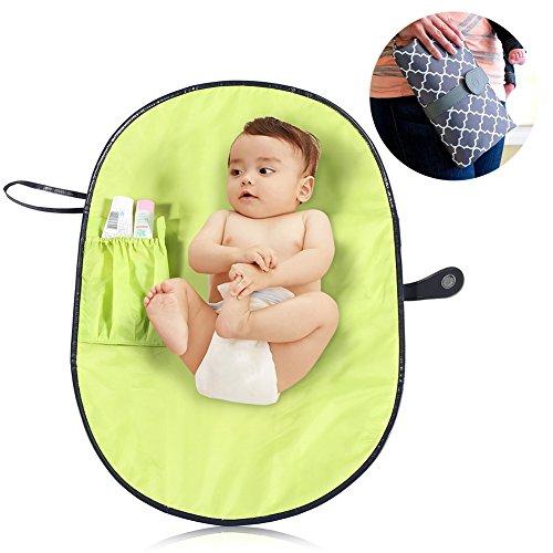 Draagbaar luier aankleedkussen, opvouwbaar waterdicht baby aankleedkussen aankleedkussen Deken luiertas Luier aankleedkussen voor familie-uitstapje(1#)
