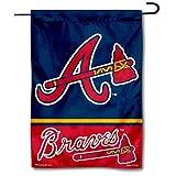 WinCraft Atlanta Double Sided Garden Flag