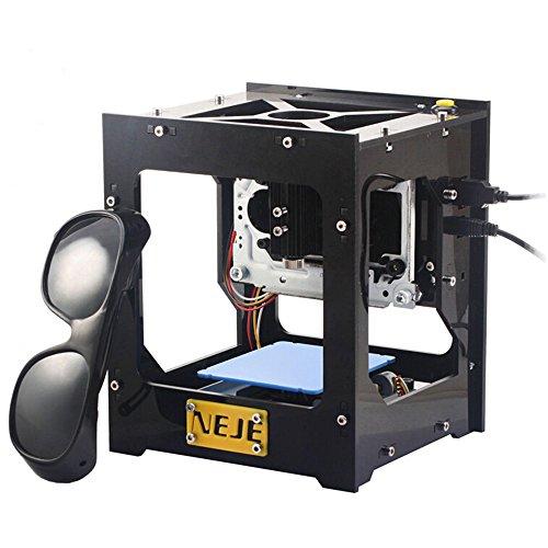 500mW-3 DIY Laser Engraving Machine Láser Máquina de Grabado Caja del...
