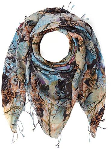BOSS Damen Nabrush Schal, Mehrfarbig (Open Miscellaneous 991), One size