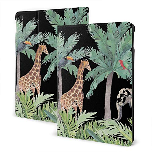 Summer Beach Camp Party Ipad Case 7th TPU Protective Stand Cover with Auto Sleep Wake Up Ipad for IPad 10.2' Tablet