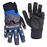 BlueDriver Impact Gloves (Mechanics Gloves) (XX-Large)