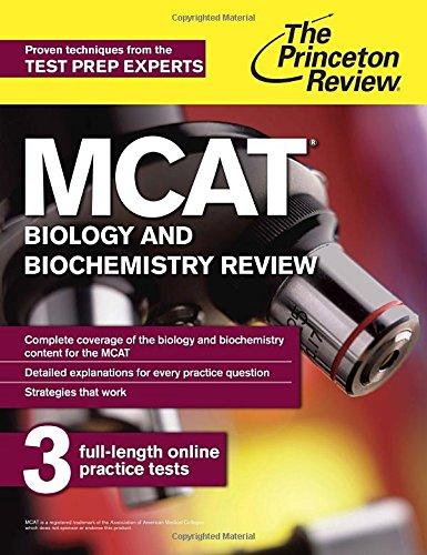 Mcat Biology And Biochemistry Review New For Mcat 2015 Graduate School Test Preparation