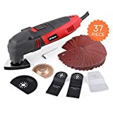 Oscillating Multi Tool, Hi-Spec DT30301, 220W with 37 Piece Consumable...