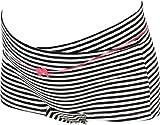 アビックス マミールナ フロントクロスボクサーショーツ(ボーダー柄) M ボーダーブラック ベア天竺 22120