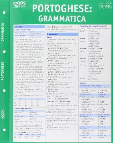 A prima vista grammatica: portoghese