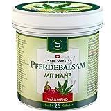 SwissMedicus Pferdebalsam mit Hanf wärmend - Pferdesalbe 500 ml