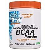 Doctor's Best Instantized BCAA Powder, Non-GMO, Gluten Free, 300g