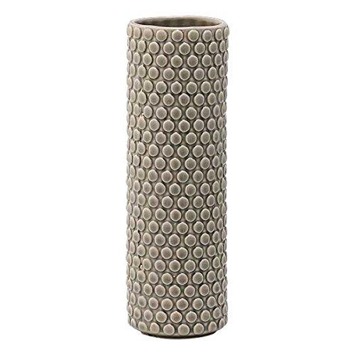 Bloomingville Vase, grau, Keramik