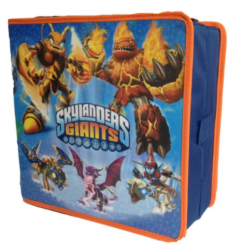 commercial Skylanders Giants Carry and Display Bag – Holds up to 32 figures skylander character cases