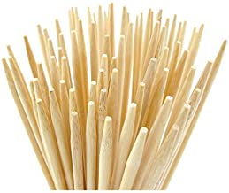 Bamboo Marshmallow Roasting Sticks 110 Pieces 36Inch 5mm Thick Extra Long Heavy Duty Wooden Bbq Skewers. Perfect For Hot Dog Kebob Sausage Fire Pit Campfire Environmentally safe 100% Biodegradable