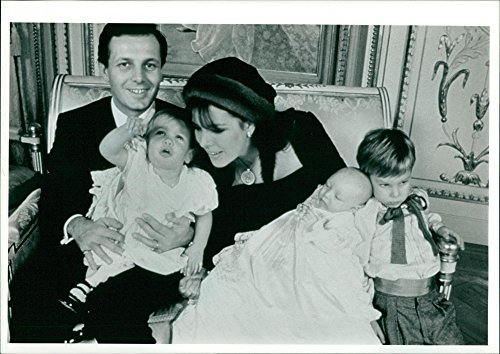 Fotomax Vintage-Foto von Stefano Casiraghi und Prinzessin Caroline von Monaco