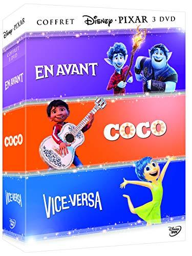 En avant + coco + vice-versa - coffret 3 films