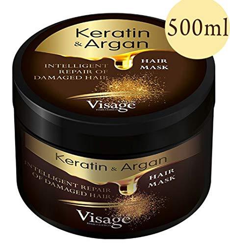 Mascarilla para el cabello de Visage con aceite de argán y