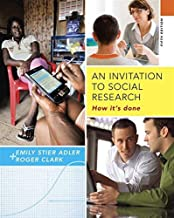 An Invitation to Social Research: How It's Done by Emily Stier Adler (2014-01-15)