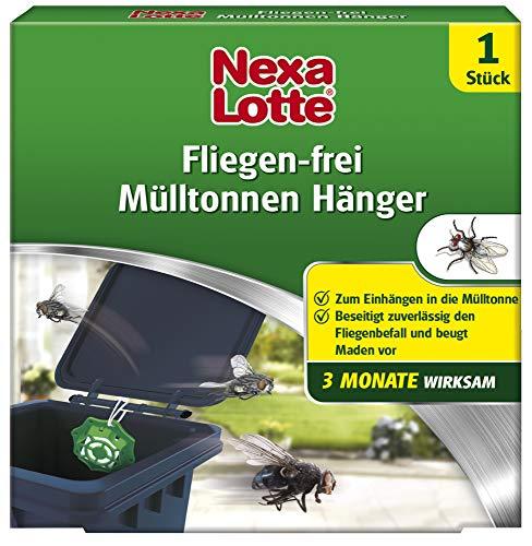 Nexa Lotte Mülltonnenhänger mit 3 Monate Langzeitwirkung, Hänger mit Zitrusduft gegen lästige Maden und Mücken , 1 Stück