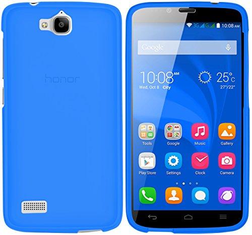 Schutzhülle kompatibel mit Huawei Honor Holly Hülle aus TPU in blau