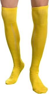 Mens Soccer Socks,Aniwon Long High Over Knee Compression Socks Athletic Socks for Mens and Boys,Dry Fast