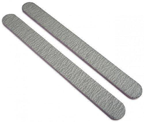 Standard Zebra 100/100 (Lav Ctr) Nail File 50 Pack by Nail File Guru
