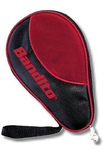 Tischtennis-Schläger Hülle Bandito für 1 Schläger und 4 Bälle Eine besonders Elegante zweifarbige Tasche