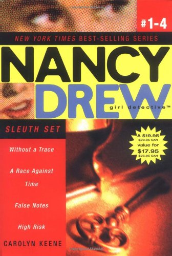 Nancy Drew Girl Detective (Boxed Set): Sleuth Set: Without a Trace; A Race Against Time; False Notes; High Risk (Nancy Drew (All New) Girl Detective) - Keene, Carolyn