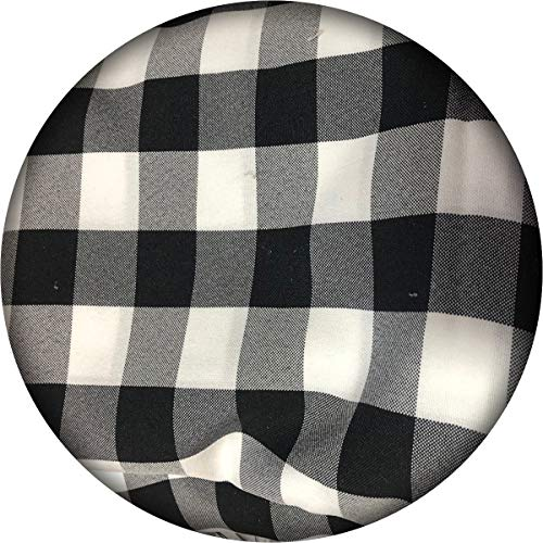 """5 Yards Checker Fabric- Washable 