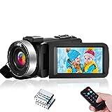Videocámara Videocamara Full HD 1080P 30FPS Videocámara Cámara IR Night Vision 24MP 16X Zoom Vlogging Camera con Control Remoto
