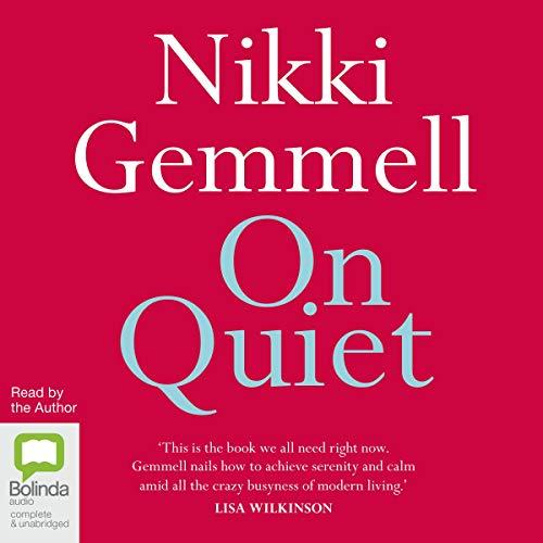 On Quiet audiobook cover art