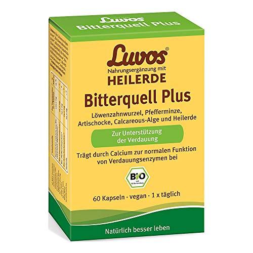Luvos Heilerde Bio Bitter 60 stk