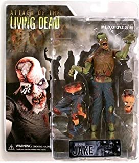 Mezco Attack of The Living Dead Jake Action Figure (Colour May Vary)