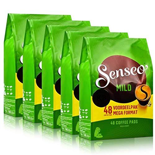 SENSEO Pads Mild Senseopads 5x Einzelpacks XXL - 240 Pads