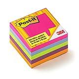 Bloco de Notas Adesivas Post-it Cubo Tropical - 450 folhas
