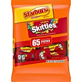SKITTLES & STARBURST Halloween Candy Fun Size Variety Mix 31.9-Ounce Bag, 65 Pieces from Wrigley
