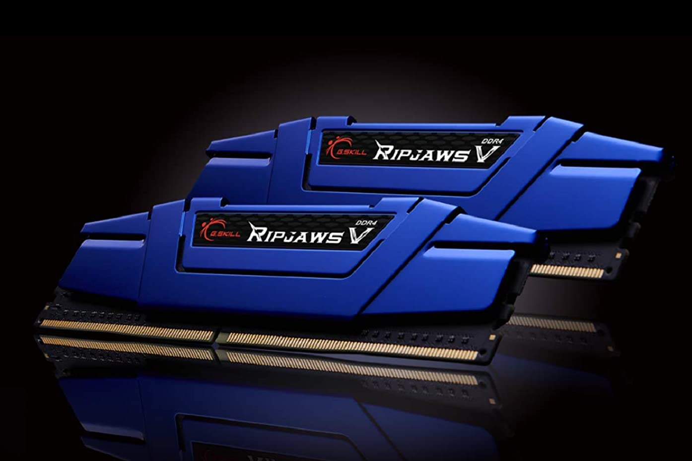 G.Skill 16GB DDR4 PC4-19200 2400MHz Ripjaws V CL15 Dual Channel kit (2x8GB) 1.20V Blue